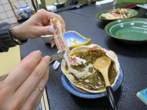 カニ味噌♬
